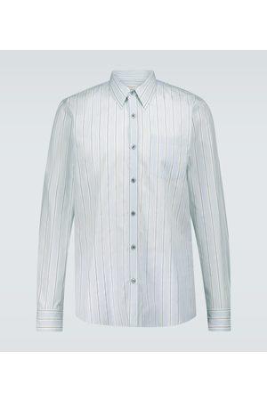 DRIES VAN NOTEN Long-sleeved cotton poplin shirt