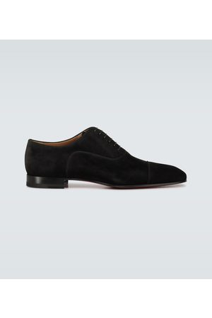 Christian Louboutin Greggo suede derby shoes
