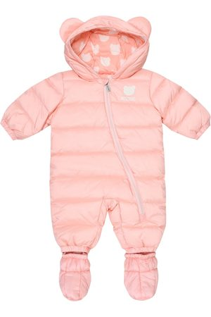 Moschino Baby down onesie