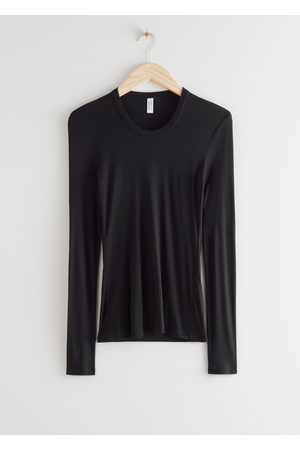 & OTHER STORIES Fitted Long Sleeve Top