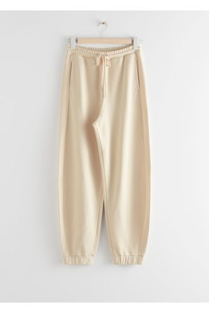 & OTHER STORIES Oversized Organic Cotton Jogger Trousers