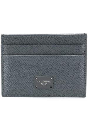 Dolce & Gabbana Logo plaque cardholder - Grey