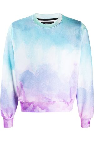 AMIRI Watercolor-print crew-neck sweatshirt