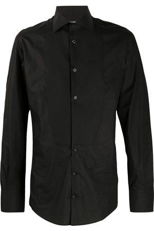 Dolce & Gabbana Bib-front cotton shirt