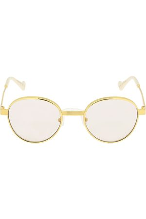 Gucci Gg0872s Round Metal Sunglasses