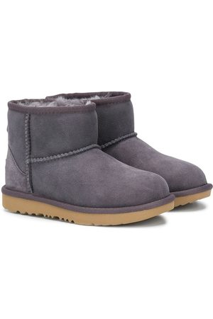 UGG Kids Shearling lined snow boots - Grey