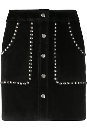Golden Goose Studded A-line mini skirt