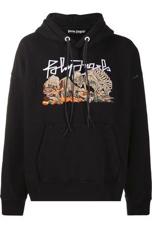 Palm Angels Desert Skull logo-print hooded sweatshirt