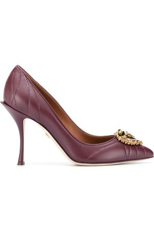 Dolce & Gabbana Devotion leather pumps