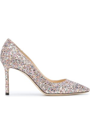 Jimmy Choo Women Pumps - Glitter pumps with stiletto heel
