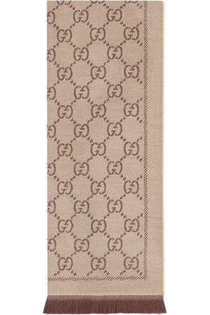 adidas GG jacquard knit scarf - Neutrals