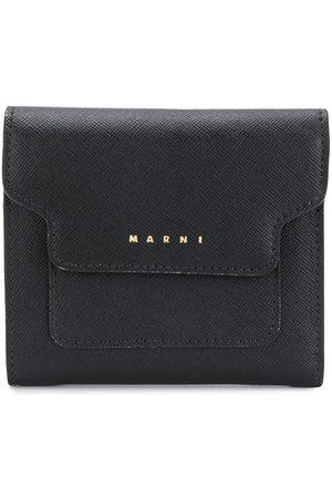 Marni Women Wallets - Logo-print trifold wallet
