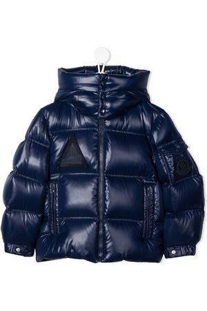 Moncler Boys Puffer Jackets - Hooded puffer coat