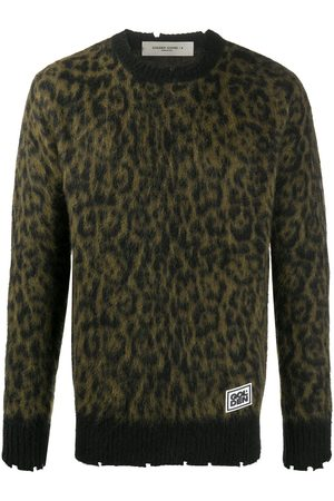 Golden Goose Brushed leopard print jumper