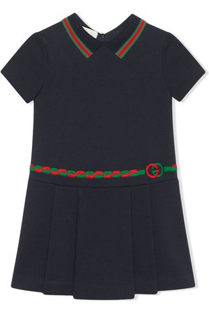 Gucci Web-embellished Interlocking G dress