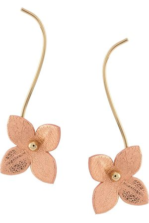 Marni Dropped floral earrings