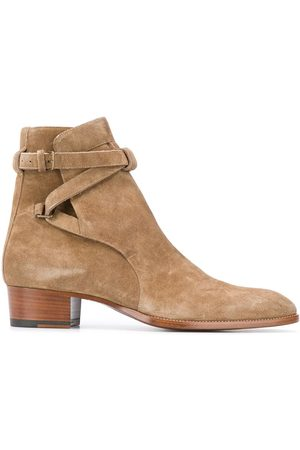 Saint Laurent 45mm ankle boots - Neutrals