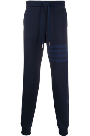 Thom Browne 4-Bar loopback track pants