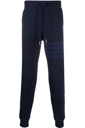 Thom Browne Men Sweatpants - Tonal 4-Bar loopback track pants
