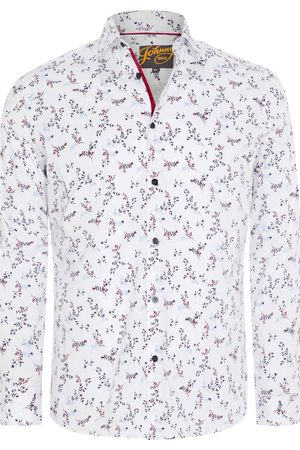 Johnny Bigg Men's Big & Tall Wesley Regular Fit Floral Stretch Button-Up Shirt