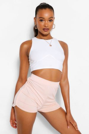 Boohoo Womens Soft Loopback Shorts - - 4