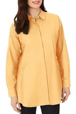 Foxcroft Cici Cotton Non-Iron Tunic Shirt
