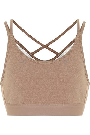 Tory Sport Stretch-jersey sports bra