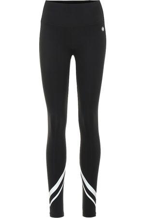 Tory Sport High-rise stretch-jersey leggings