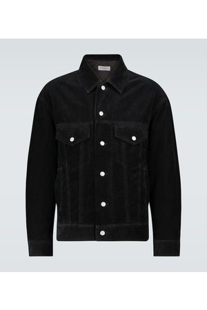 DRIES VAN NOTEN Men Denim Jackets - Boxy-fit corduroy jacket
