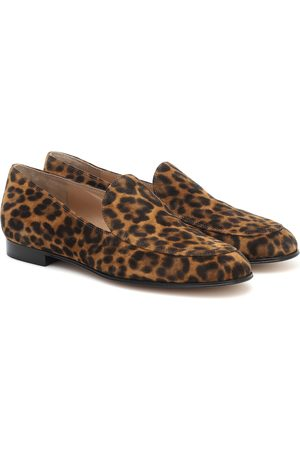 Gianvito Rossi Marcel leopard-print suede loafers