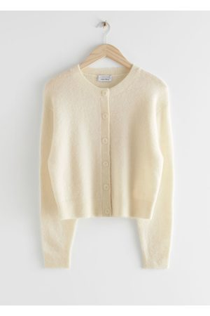 & OTHER STORIES Fuzzy Button Up Cardigan