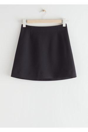 & OTHER STORIES Straight Mini Skirt