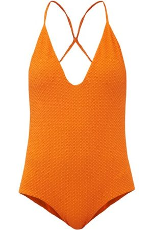 DODO BAR OR Rossie Crossover-strap Swimsuit - Womens