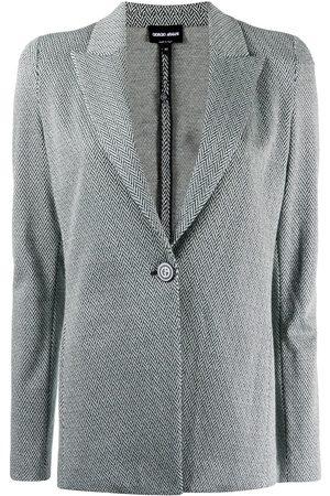 Armani Chevron-pattern blazer