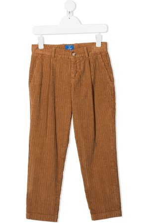 FAY KIDS Straight-leg corduroy trousers