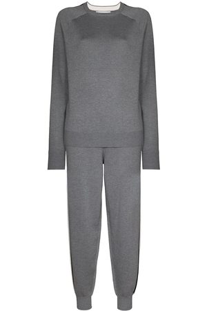 adidas Missy London sweatshirt and track pants set - Grey
