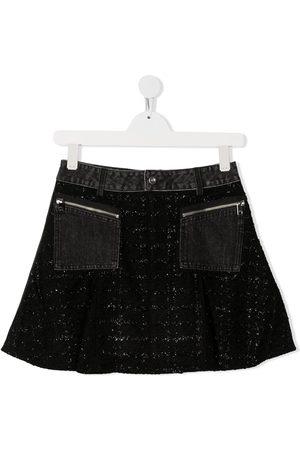 Diesel TEEN flared mini skirt