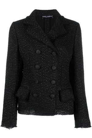 Dolce & Gabbana Double-breasted tweed jacket