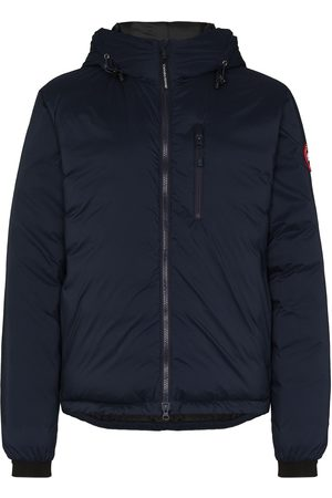 Canada Goose Men Puffer Jackets - Lodge hooded padded jacket