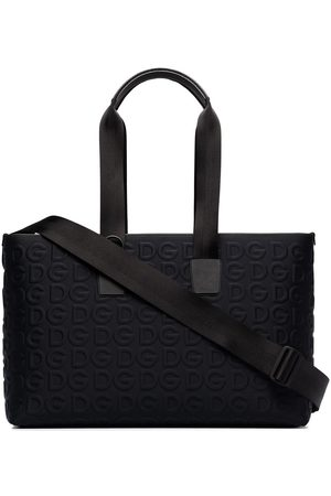 Dolce & Gabbana Palermo Tecnico logo-embossed holdall bag