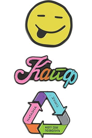 Natasha Zinko Multicolour pin set
