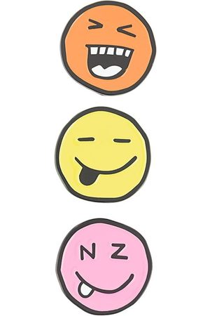 Natasha Zinko Three-pack faces pin set
