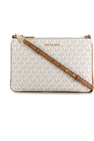 Michael Kors Logo print crossbody bag - Neutrals