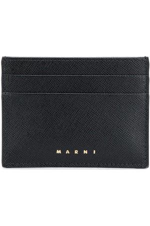 Marni Logo-debossed cardholder