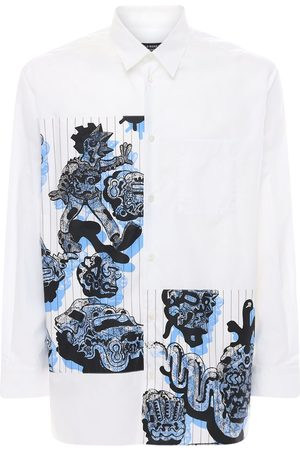 Stella McCartney Printed Patch Cotton Shirt