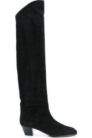 Aquazzura Suede knee-high boots