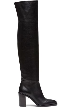 Prada Knee-length mid-heeled boots