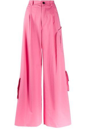 Natasha Zinko Women Cargo Pants - Wide-leg cargo trousers