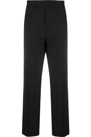 Acne Studios Elasticated waistband straight-leg trousers
