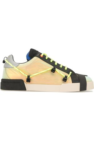 Dolce & Gabbana Portofino leather sneakers - Multicolour